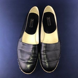 Gucci Leather Slip-ons